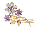 Wordley Allsopp & Bliss Bejeweled Brooch