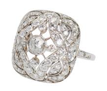 Wearable Art - Eco Friendly Diamond Ring