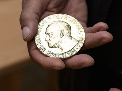 Nobel Peace Prize Ethical Gold
